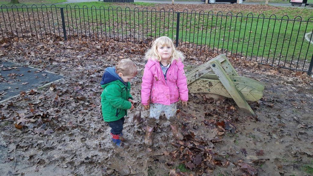 Muddy play date