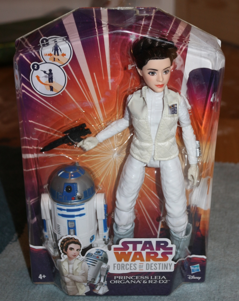 Star Wars Forces of Destiny Princess Leia Organa and R2-D2 Adventure Figure Playset
