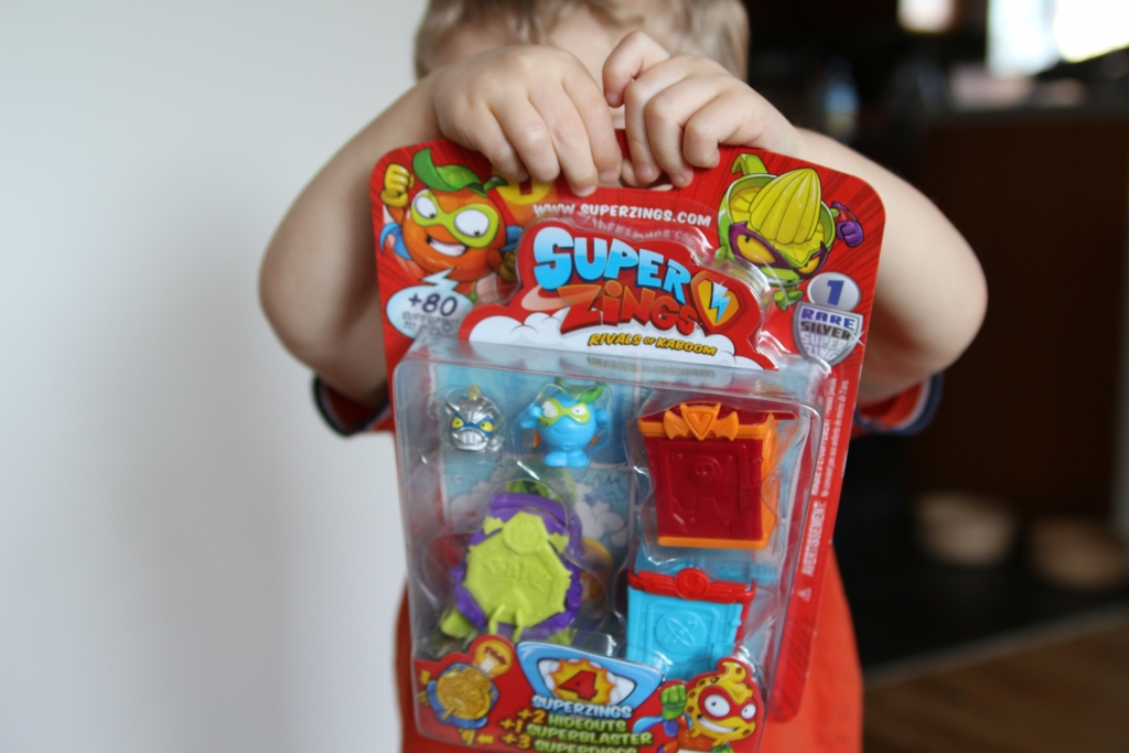 SuperZings review: blister pack