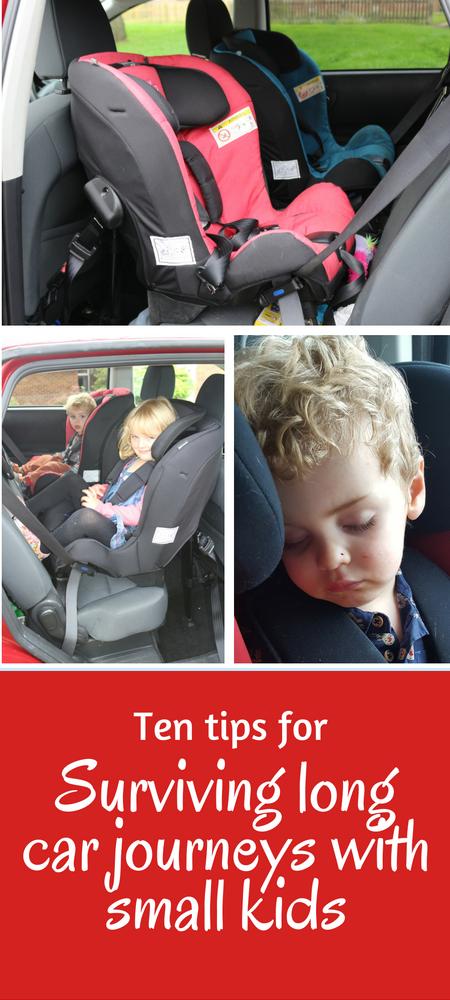 Ten Tips for surviving long car journeys with small kids #parenting #parentingadvice #toddlers #toptips #parentingtips #preschoolers #momlife #momsadvice #carjourneys