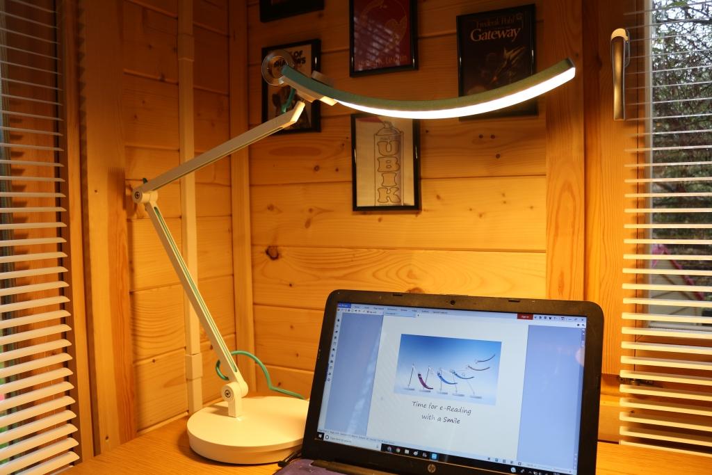 Benq Wit Intelligent E Reading Led Desk Lamp Light Review