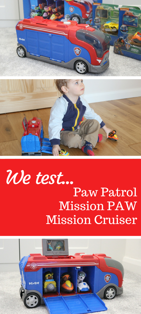 We test the Paw Patrol Mission PAW Mission Cruiser & Mini Vehicles! Do you enjoy PAWsome missions It's pup pup and away with the new Paw Patrol Mission PAW Mission Cruiser and Mini Vehicles. Here is our review with video #toys #pawpatrol #toyreviews #missionPAW #preschooltoys.