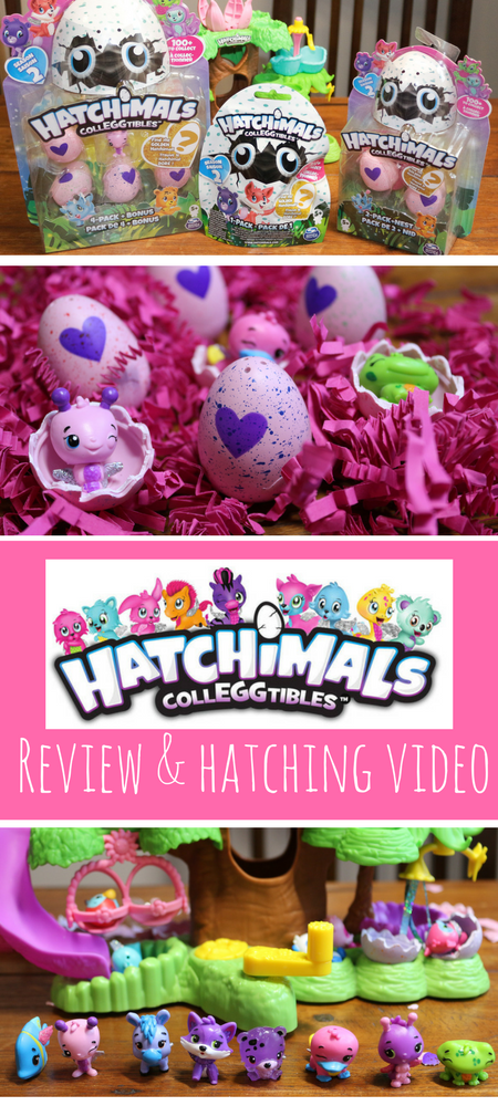 Spinmaster recently released Hatchimals CollEGGtibles Season 2 so you can hatch a whole new world! Crack open the Hatchimals collectible eggs to hatch a whole world! #hatchimals #hatchimalscolleggtibles #collectibles #toys #reviews #toyreviews #colleggtibles #hatchimal