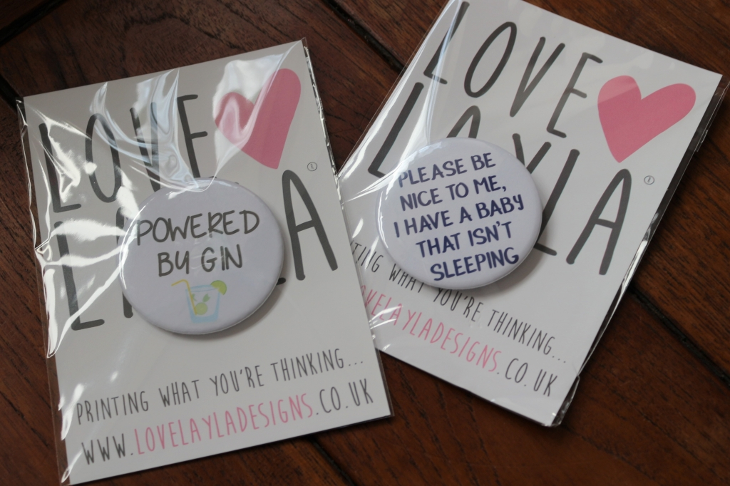 Love Layla - funny Mother's Day cards, wrapping and gifts - Badges