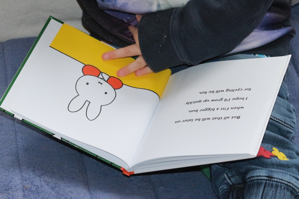 Miffy books review - Miffy's bicycle