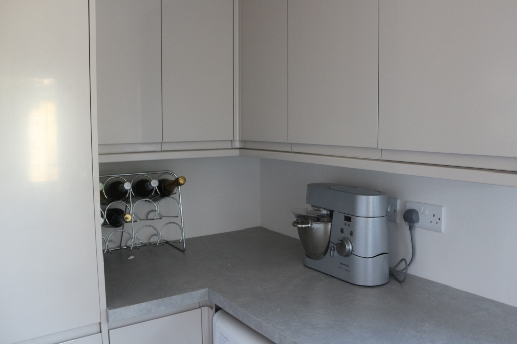 Nice Howden's units in utility room! Bringing light into your home is important and when you're planning an extension you need to make sure that there is enough light. Let there be light: Things to consider when planning an extension.