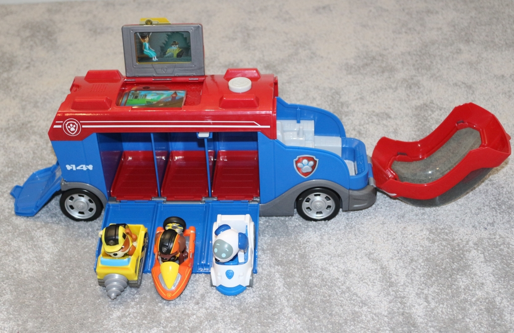 PAW Patrol Mission PAW Mission Cruiser and Mini Vehicles review & video