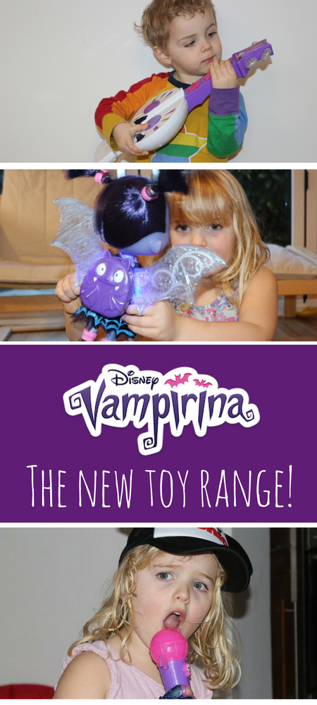 Vampirina Toys - the new Disney Junior show Vampirina has a fab new toy range to #Vampirina #Disney #DisneyJunior #Toys #Toyreviews #Vamparina #disneytoys #vampire #halloween