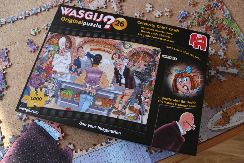 Wasgij jigsaw puzzle Celebrity Chef - Mother's day gift ideas