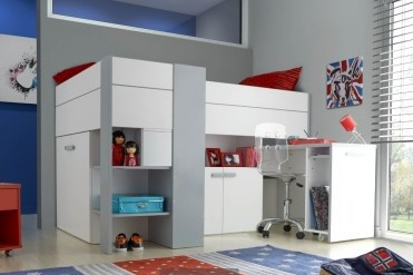 Cabin bed - make the most of small bedrooms - tips to maximise space in a small bedroom