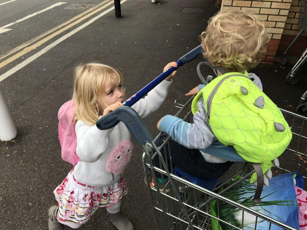 parent child parking tesco rant