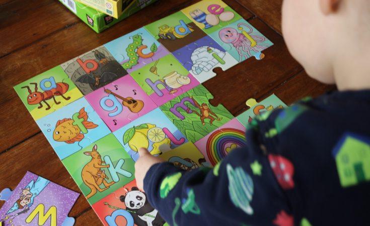 Alphabet Jigsaw - Brainstorm, Green Board Games (4)