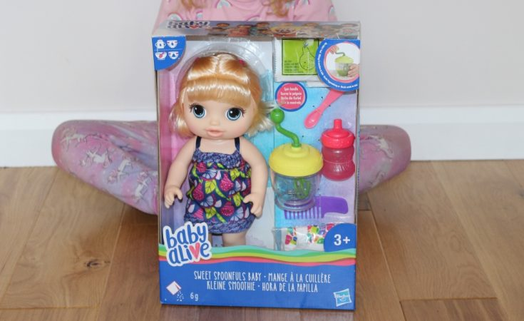 Baby Alive Sweet Spoonfuls Baby Doll Review Hasbro Toy Tribe