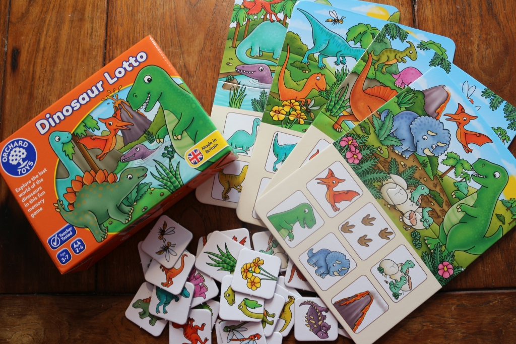 Dinosaur Lotto review Orchard Toys