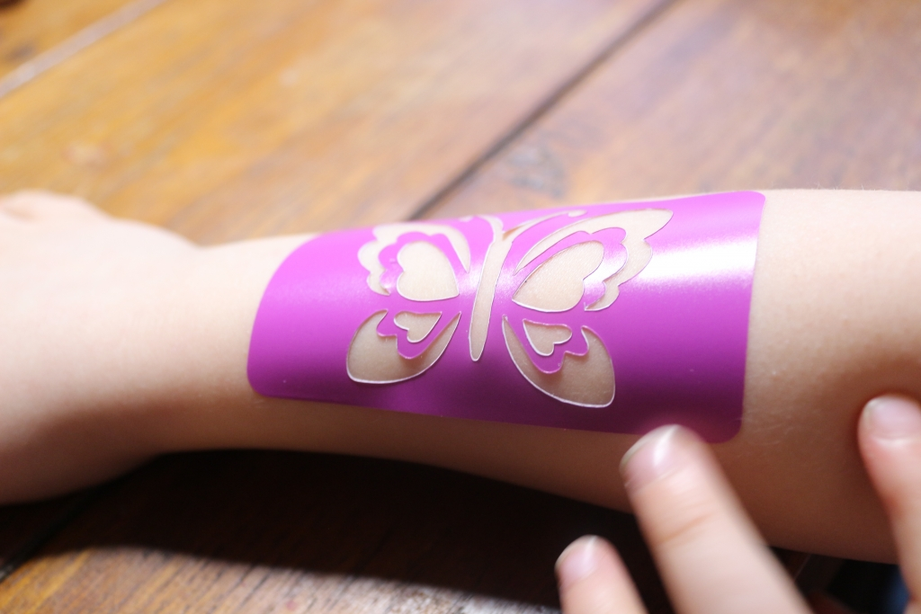 Interplay FabLab Glitter Tattoo, Hairlights and Nail Art kits review