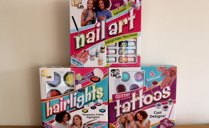 Interplay Fab Lab nail art, hairlights and glitter tattoo kits review