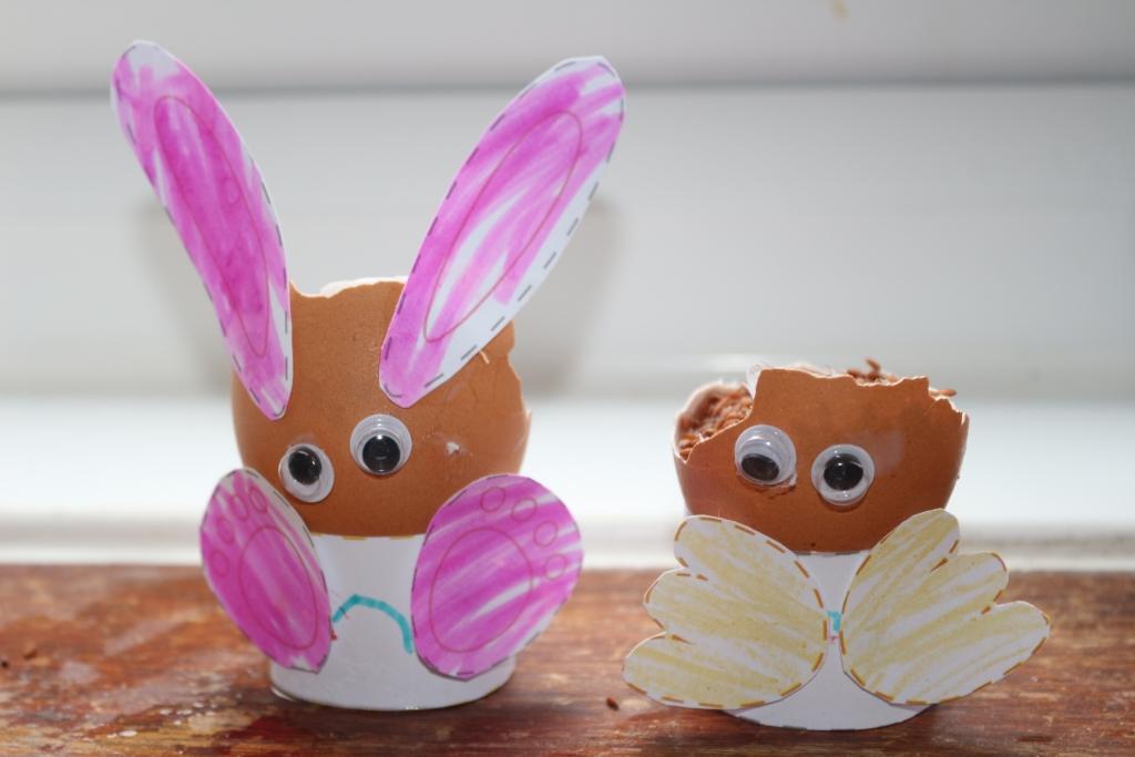 Mini Baker's Club - Eggshell creatures