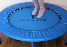 My Rebounder children's mini trampoline (76)