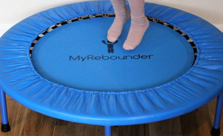My Rebounder children's mini trampoline (76)