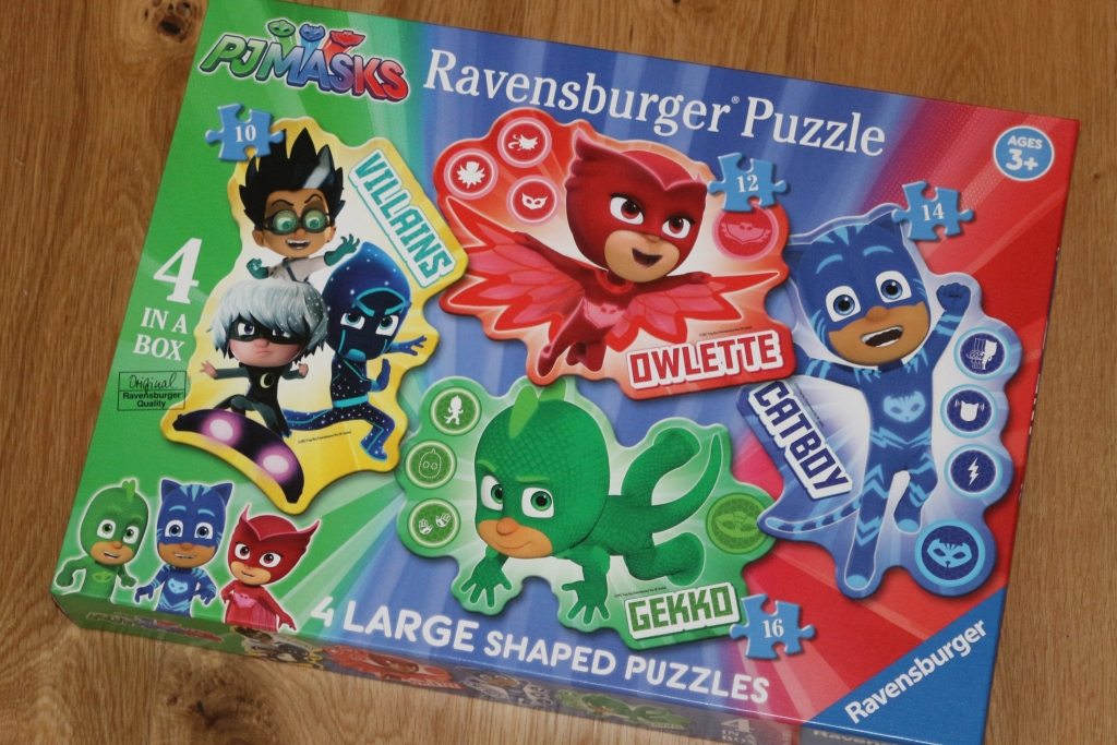 PJ Masks 4 large shaped puzzles (15)