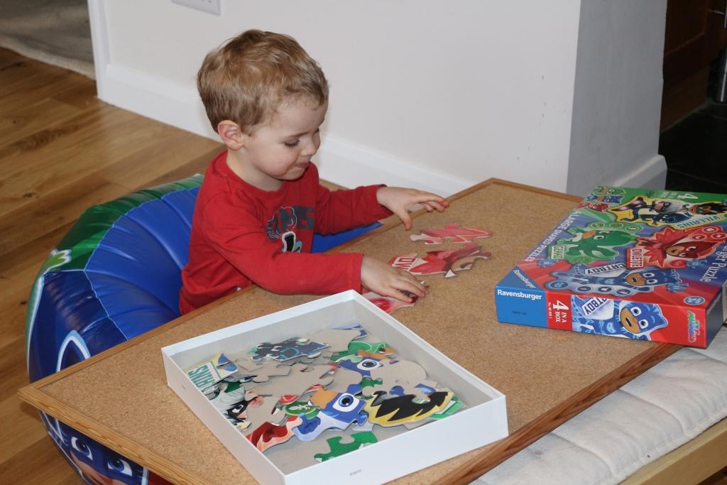 PJ Masks 4 in Box Jigsaw Puzzles