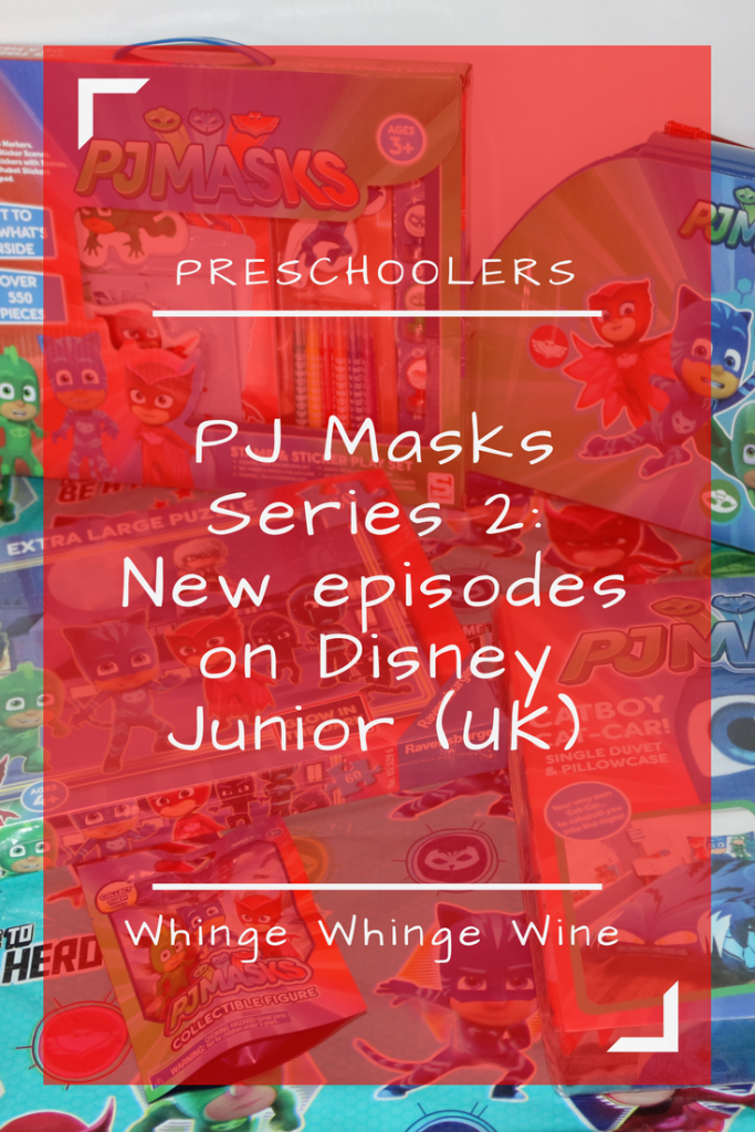 PJ Masks series 2 is here New episodes hit Disney Junior UK on the 28th March and there are some great PJ Masks toys to go along with the new series - check them out. #PJMasks #PJMasksToys #NewPJMasks #PJMasksseries2 #Owlette #Catboy #Gecko #WIN