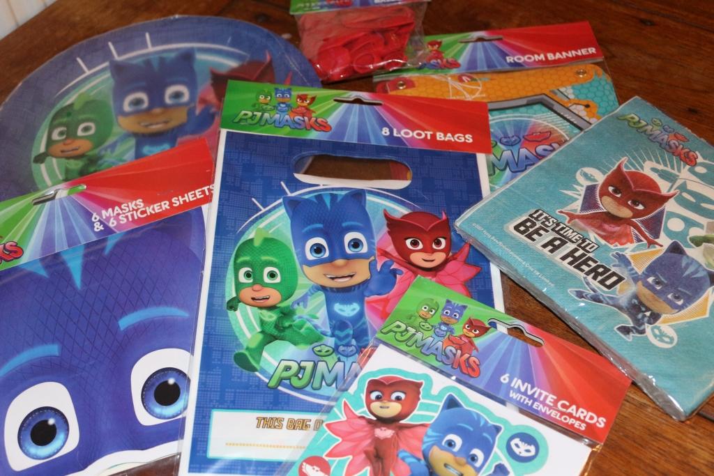 PJ Masks series 2 partyware