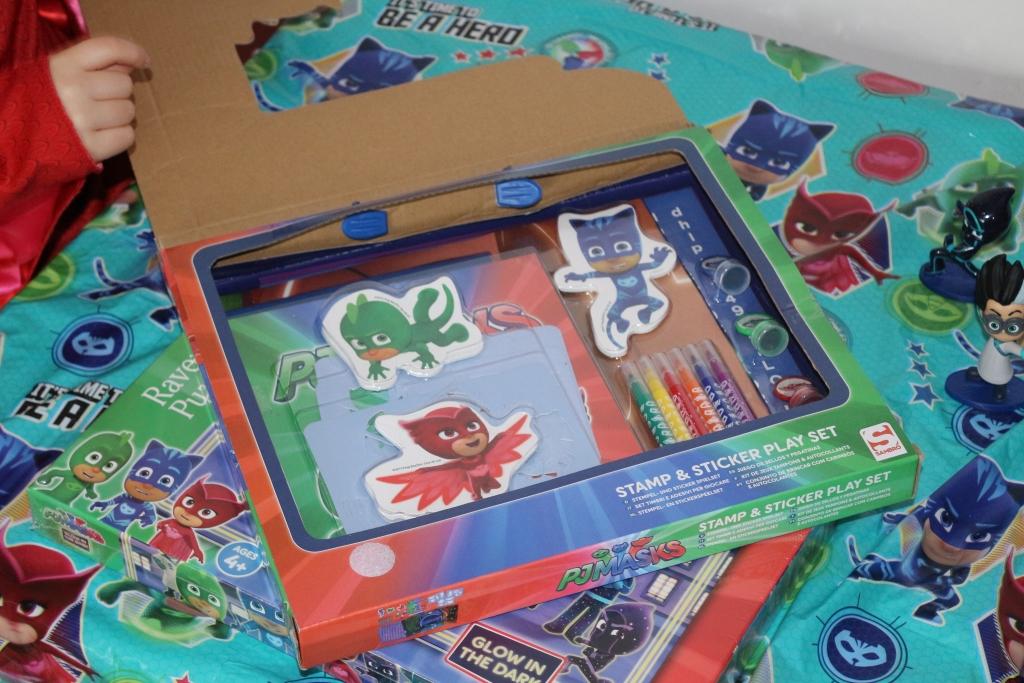 PJ Masks Series 2 Stamp and sticker set