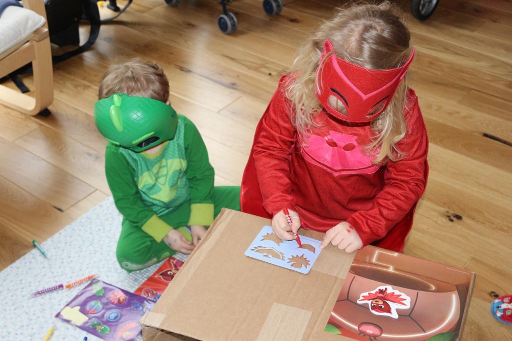 PJ Masks Series 2 Stamp and sticker set - PJ Masks Toys