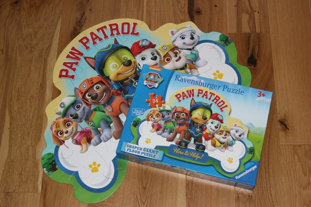 Paw Patrol Large Shaped Floor Jigsaw Puzzle 24 piece