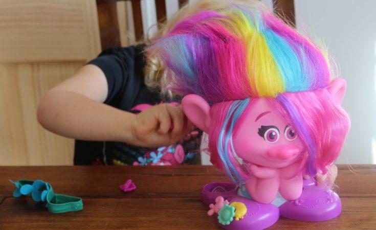 Princess Poppy True Colours Styling Head - Trolls Style Station (21)