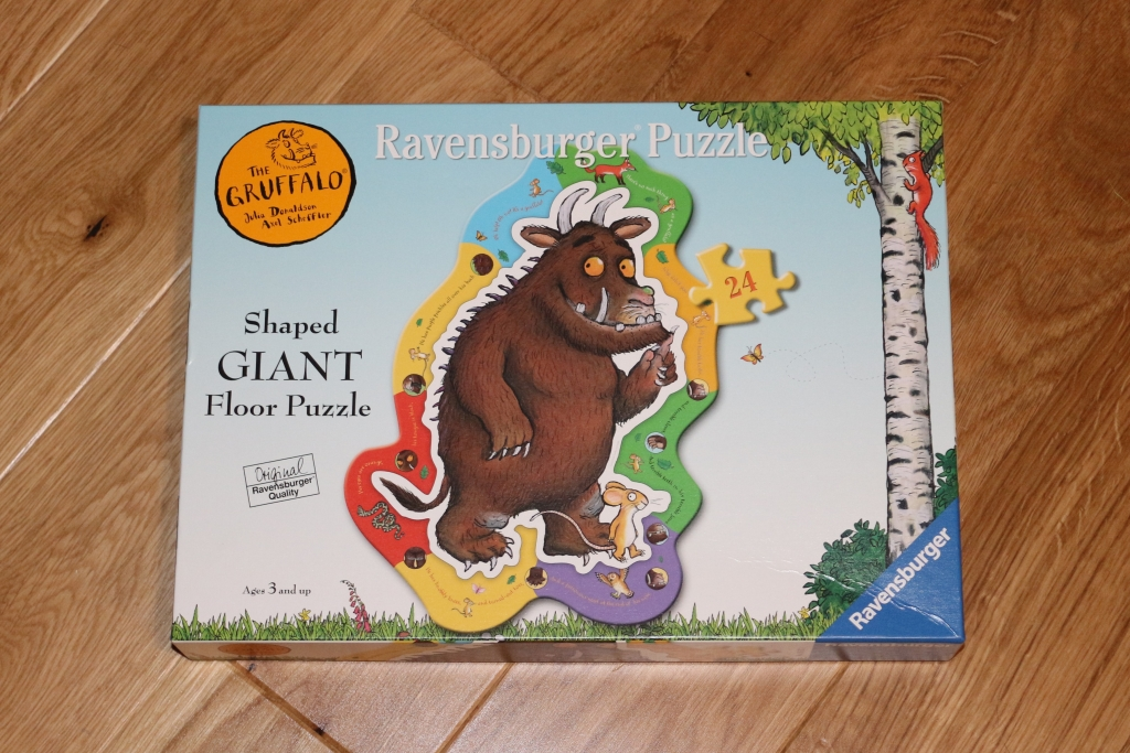 Ravensburger Gruffalo Shaped Giant Floor Jigsaw puzzle