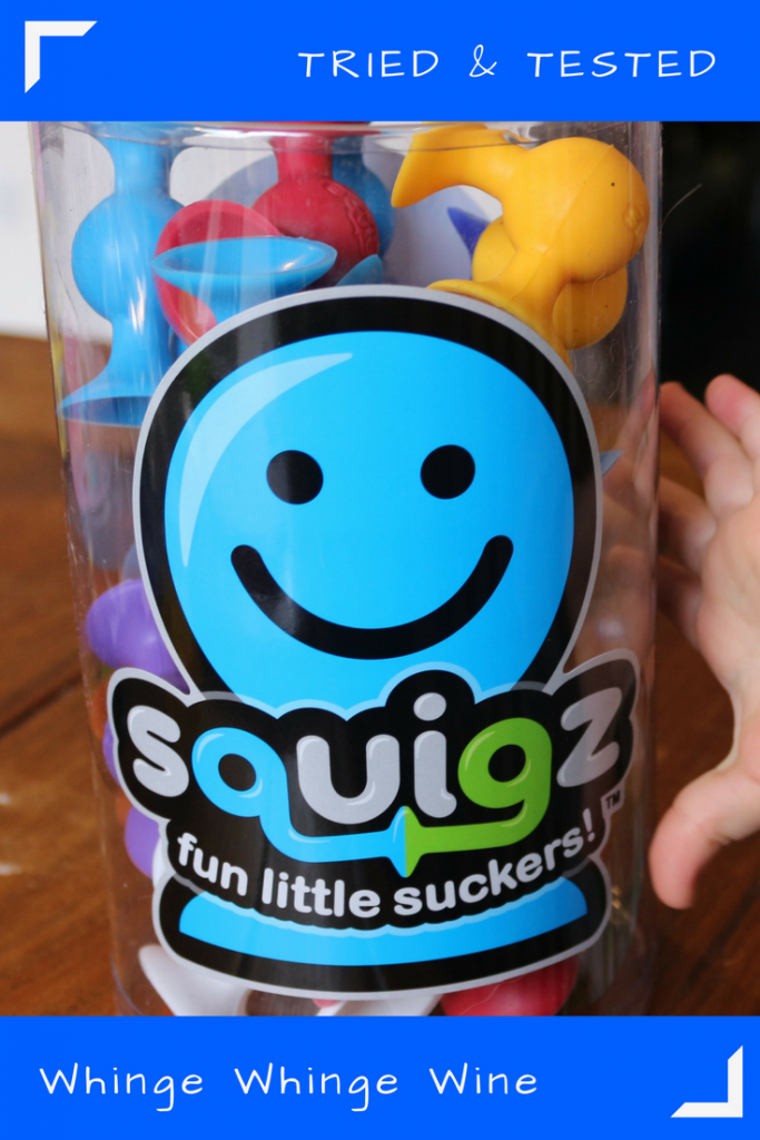 It isn't often that a toy comes along and you think 'wow, that's so creative! I've never seen anything like that before' but with Squigz, that is exactly what I thought. Take a look at our review of Squigz, silicone sucker building toys which unleash creativity.
