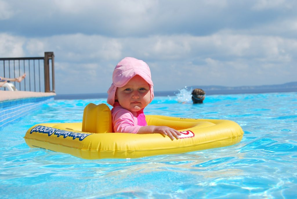 The Best Swimming Aids for Toddlers and young Children - baby float