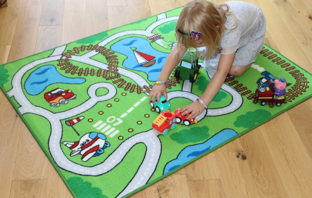 Aldi Baby and Toddler event summer 2018 Race track play mat
