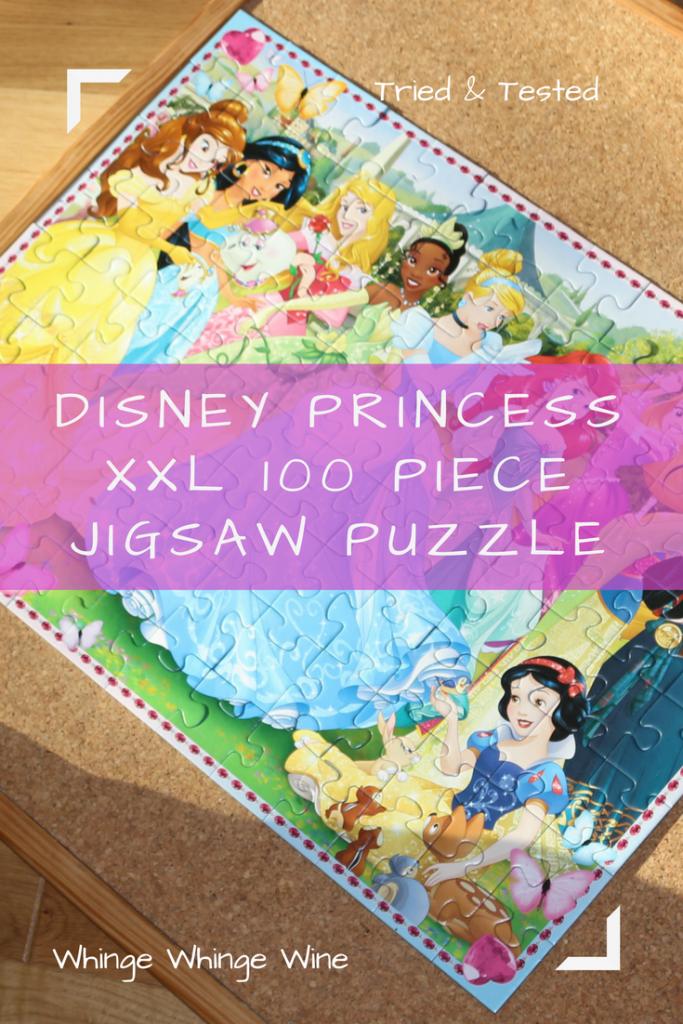 Ravensburger Disney Princess XXL100 piece jigsaw puzzle 6+ review #kidsgifts #presents #toys #prescoolertoys #toyreviews #puzzles