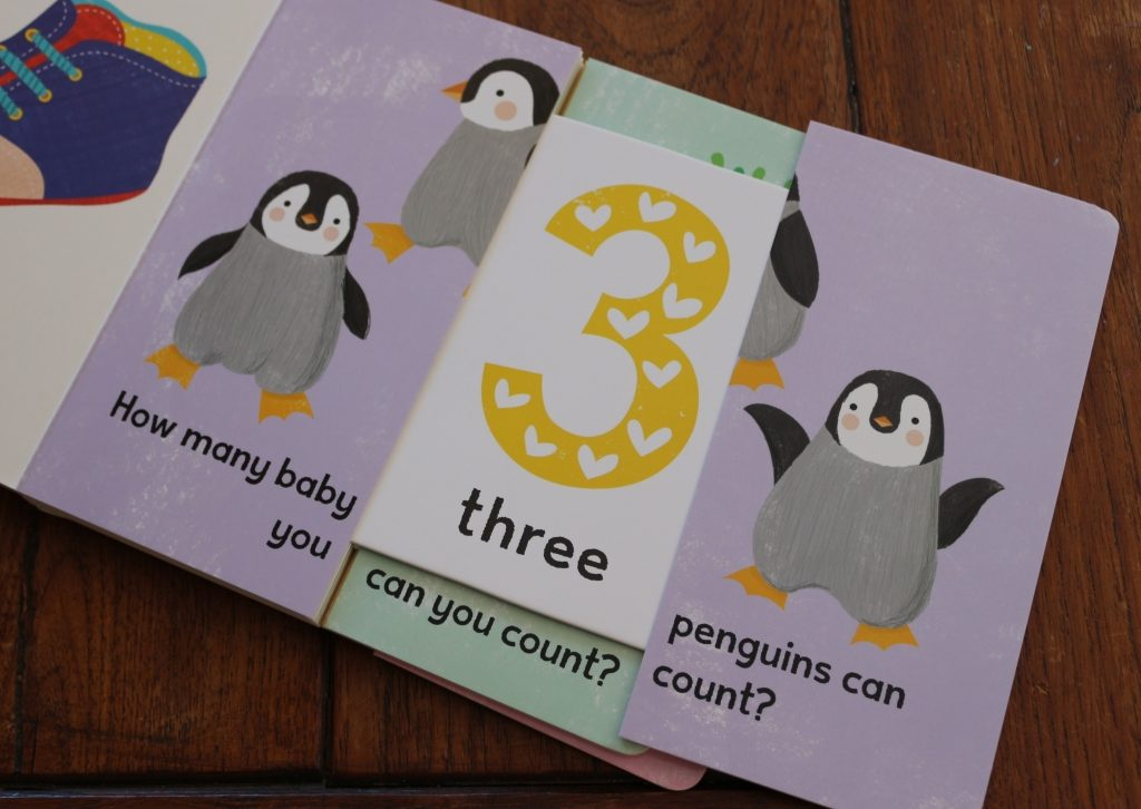 I can Learn it Slide and learn counting book