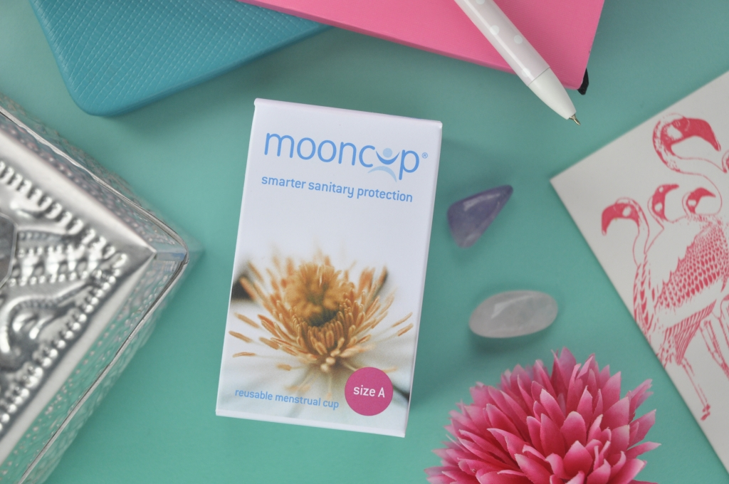 Mooncup sanitary protection cup- ten reasons to give it a try!