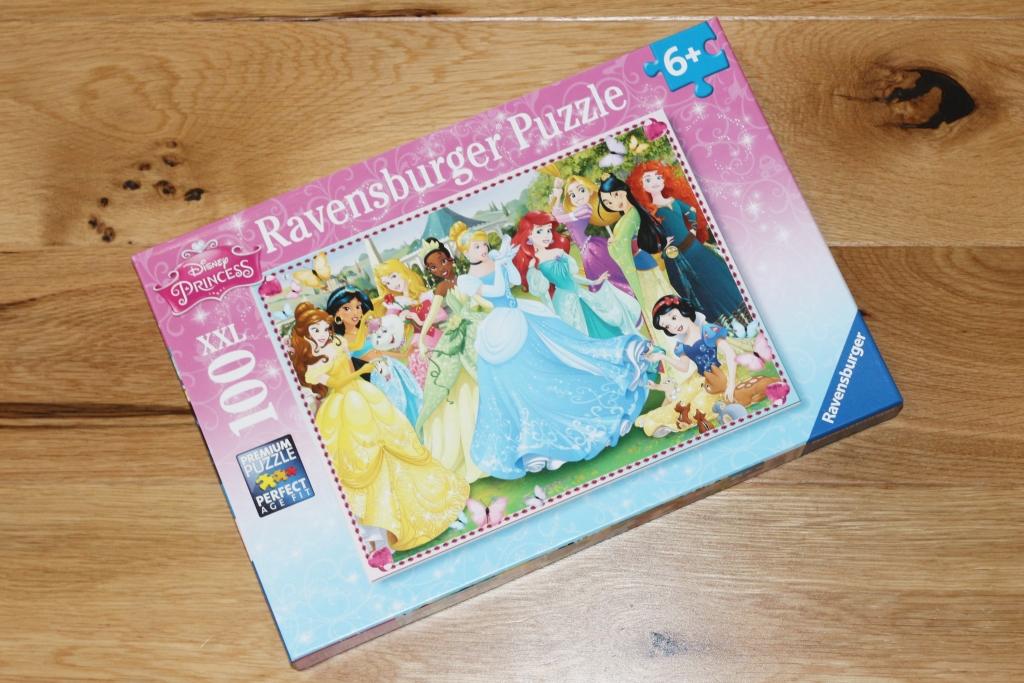 Ravensburger Disney Princess XXL100 piece jigsaw puzzle 6+ box