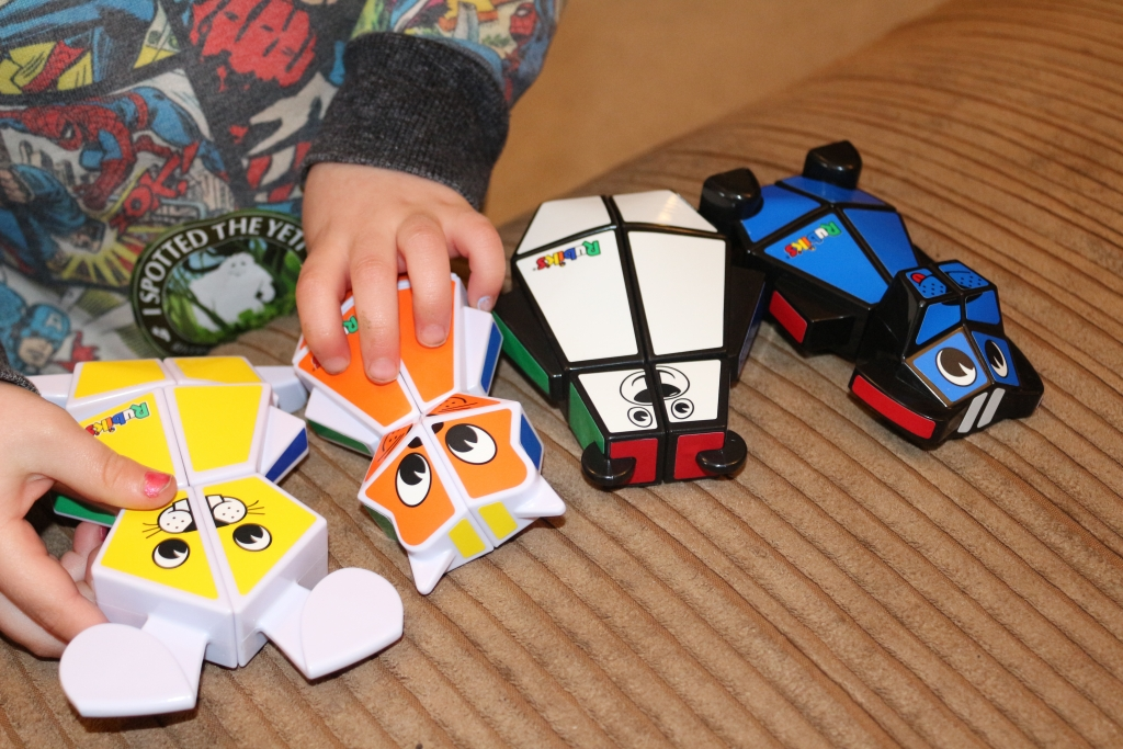 Rubik's Junior cube puzzle
