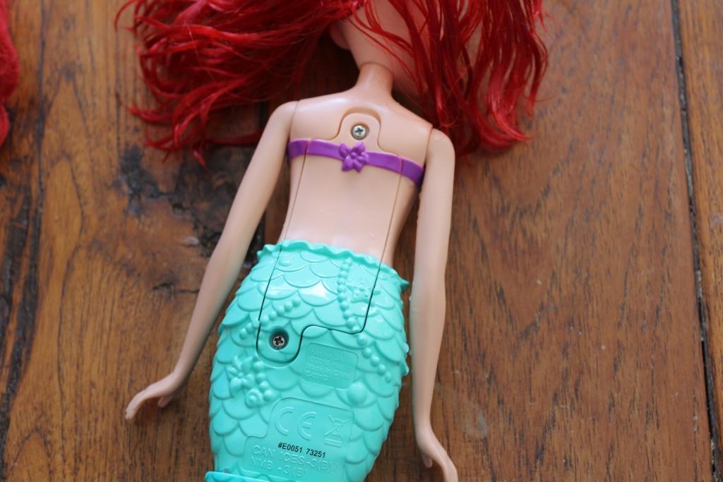Swimming Adventures Ariel battery enclosure