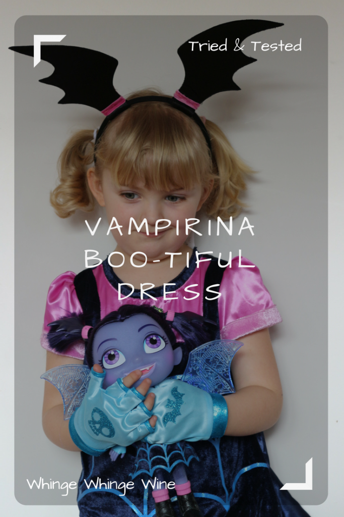 Vampirina Boo-Tiful dress: Dress up as #Vampirina! #preschoolers #pretendplay