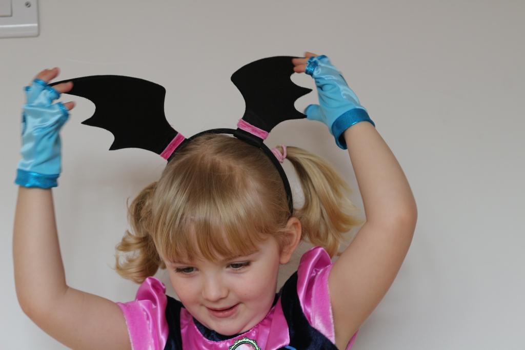 Vampirina Boo-Tiful dress and batty headband: Dress up as Vampirina!