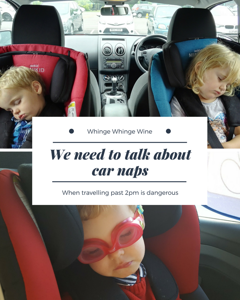 We need to talk about car naps: When driving after 2pm puts you in dangerous territory. How do you stop your child falling asleep in the car?! #toddlers #naps #parenting #momlife #mumlife