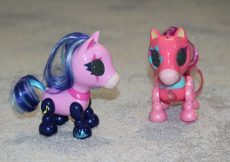 Zoomer Zupps pretty ponies - Electra and Dixie