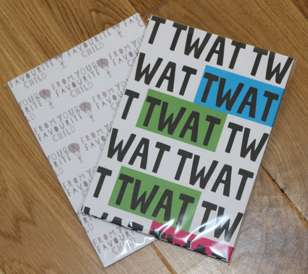10. Wrapping paper - Love Layla funny rude and inappropriate greetings cards for Father's Day