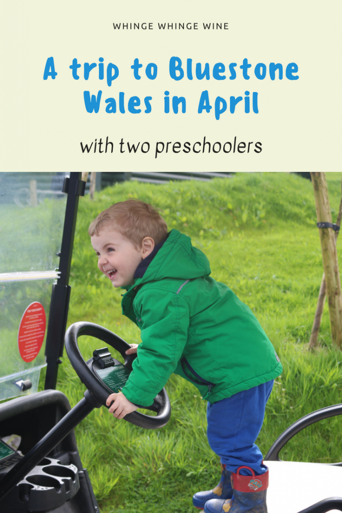 A visit to Bluestone Wales Holiday Village in spring with two preschoolers. What there is to do on site, where you can go if it rains and what the local beaches are like #VisitWales #FamilyTravel #BluestoneWales #Bluestone #Travel