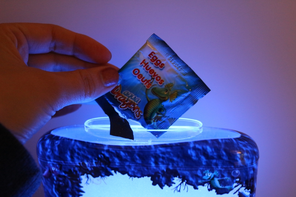 Aqua Dragons Deluxe Deep Sea Habitat with LED Lights kit review - sea monkeys, brine shrimp, artemia