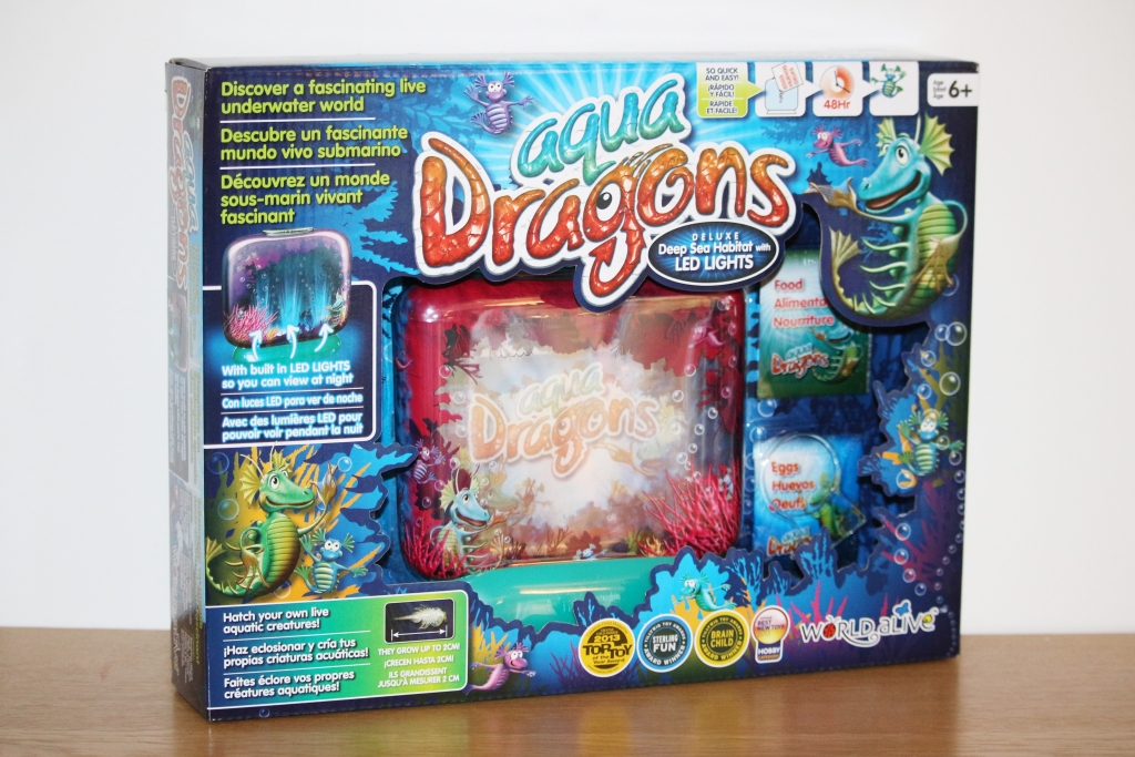 Aqua Dragons Deluxe Deep Sea Habitat with LED Lights - box