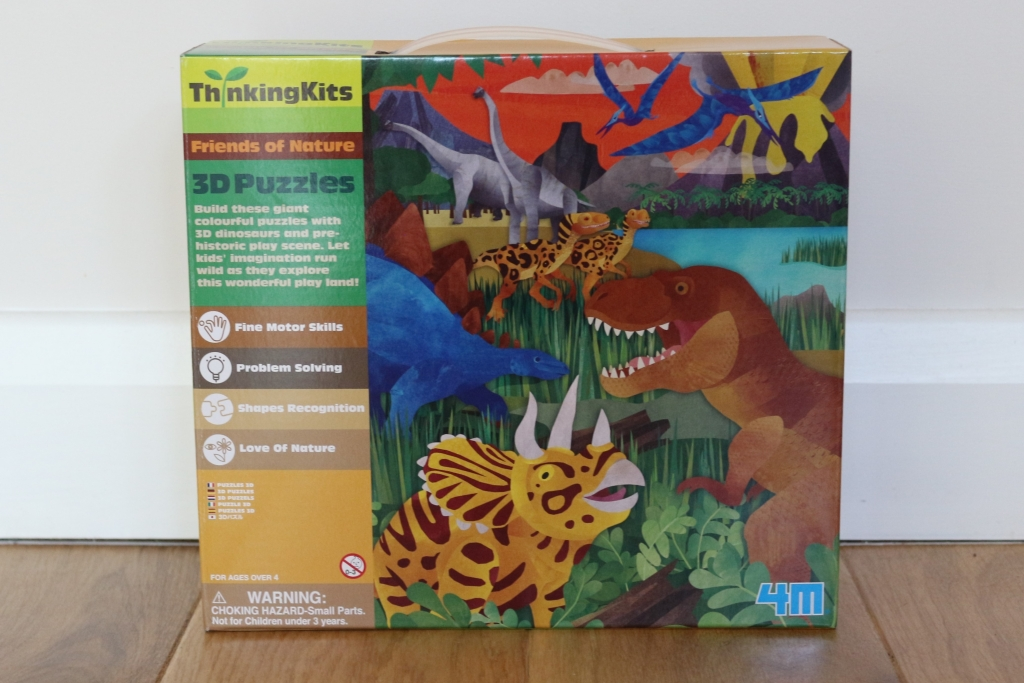 3d dino puzzle - 3rd birthday gift suggestions for boys